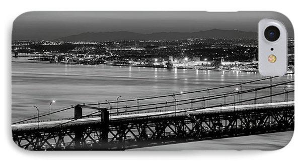 25 April Bridge Over Tagus River IPhone Case by Carlos Caetano