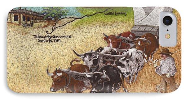 25th Anniversary Santa Fe Trail Association IPhone Case