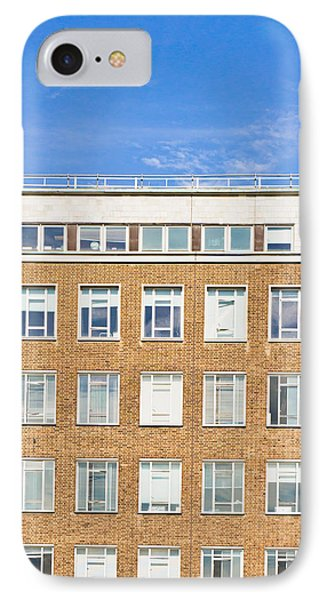 Modern Building IPhone Case by Tom Gowanlock