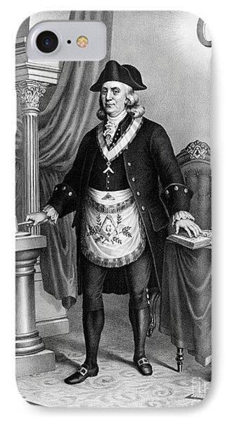 Benjamin Franklin (1706-1790) Phone Case by Granger