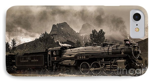 2816 Empress At Three Sisters - Canmore IPhone Case