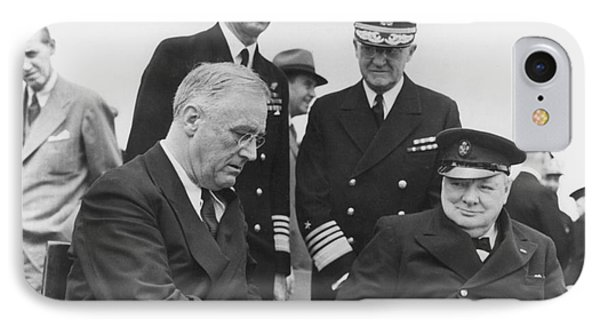 Franklin Delano Roosevelt IPhone Case