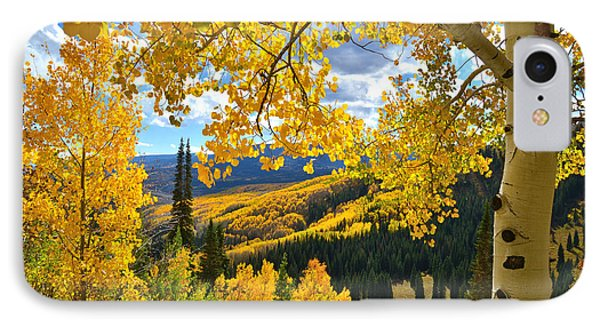 Ohio Pass Fall Colors IPhone Case by Ray Mathis