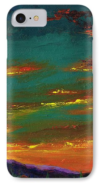 2nd In A Triptych IPhone Case by Frances Marino