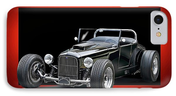 1927 Ford 'track T' Roadster IPhone Case by Dave Koontz