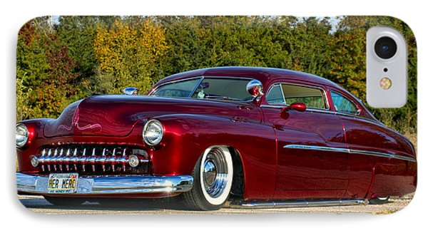 IPhone Case featuring the photograph 1951 Mercury Low Rider by Tim McCullough