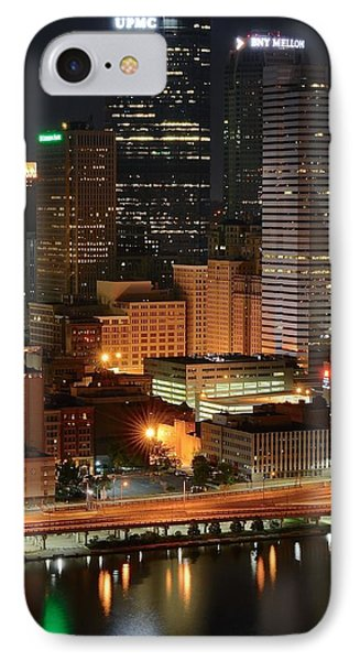 A Pittsburgh Night IPhone Case