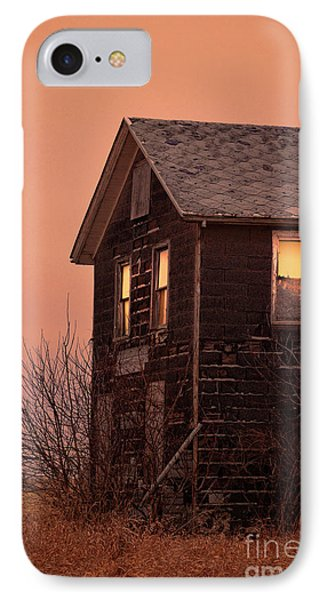 IPhone Case featuring the photograph Abandoned House by Jill Battaglia
