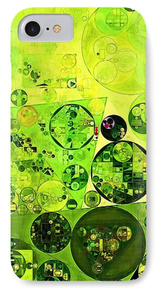 Abstract Painting - Myrtle IPhone Case