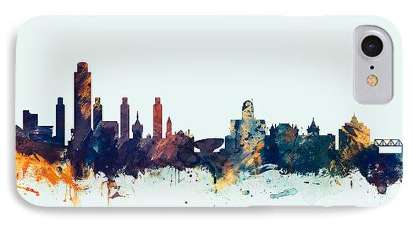 Albany New York Skyline IPhone Case