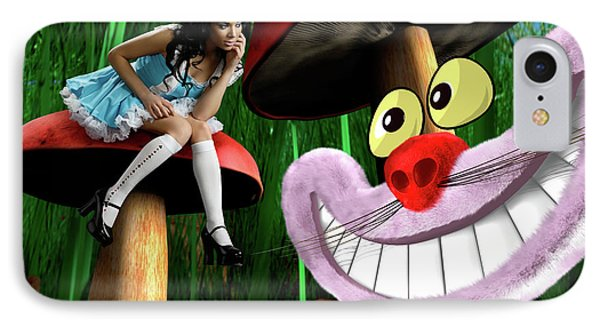 Alice In Wonderland Phone Case by Oleksiy Maksymenko