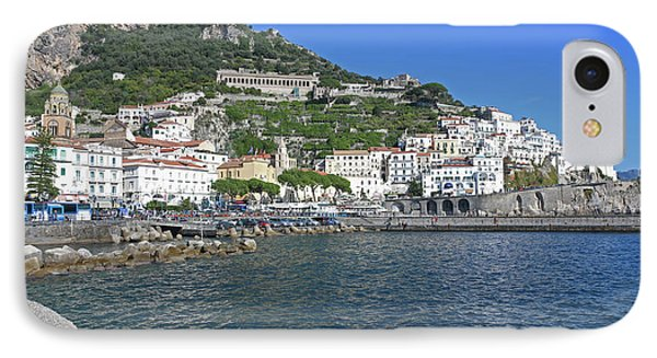 Amalfi, Campania, Italy IPhone Case by Lilach Weiss