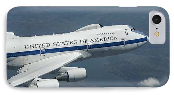 An E-4b National Airborne Operations IPhone Case by HIGH-G Productions