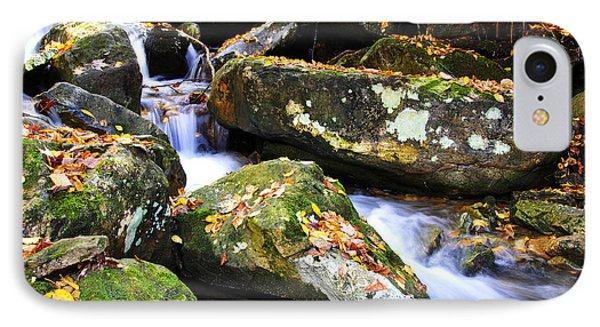 Autumn Mountain Stream Phone Case by Thomas R Fletcher