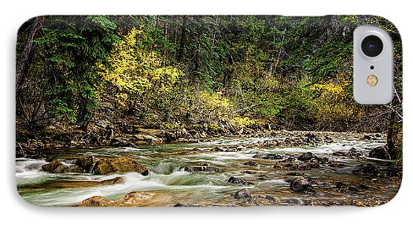 IPhone Case featuring the photograph Autumn Stream by Andrew Soundarajan