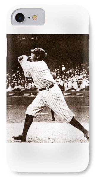 Babe Ruth IPhone Case by American School