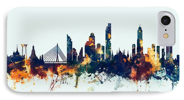 Bangkok Thailand Skyline IPhone Case