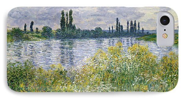 Banks Of The Seine, Vetheuil IPhone Case