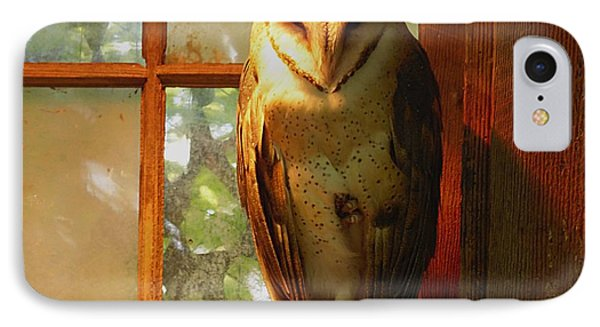 IPhone Case featuring the photograph Barn Owl by Janice Spivey