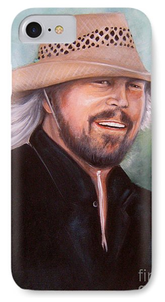 Barry Gibb IPhone Case by Patrice Torrillo