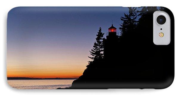 Bass Harbor Lighthouse Phone Case by John Greim