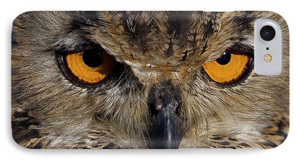 IPhone Case featuring the photograph Bengal Eagle Owl by JT Lewis