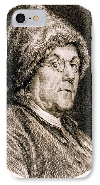 Benjamin Franklin, American Polymath Phone Case by Science Source