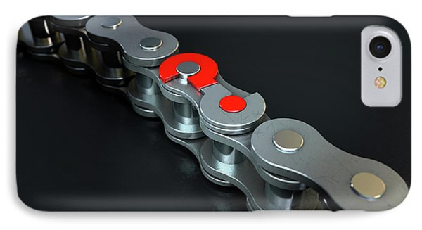 Bicycle Chain Missing Link IPhone Case