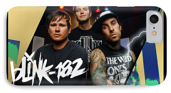 Blink 182 Collection IPhone Case by Marvin Blaine