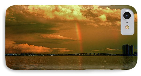 IPhone Case featuring the photograph 3- Blue Heron Bridge by Rainbows