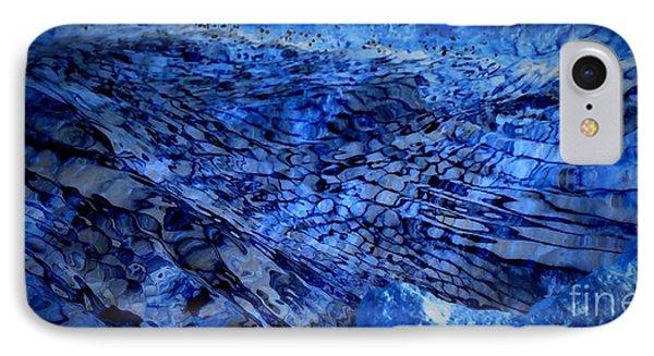 Blue IPhone Case by Sylvie Leandre