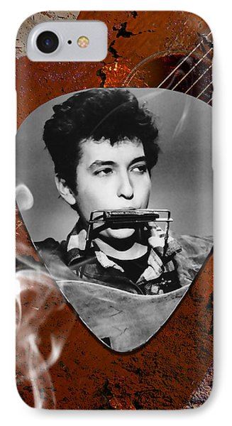 Bob Dylan Art IPhone Case by Marvin Blaine