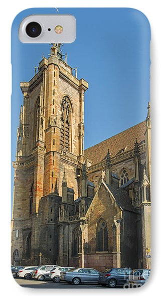 Cathedral Of Saint Martin In Colmar IPhone Case by Yefim Bam