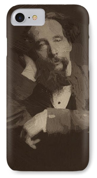 Charles Dickens 2 IPhone Case