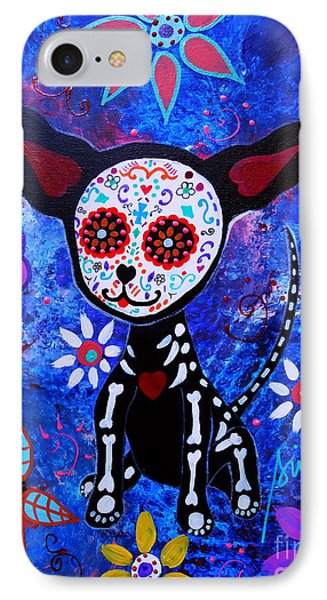 Chihuahua Day Of The Dead IPhone Case
