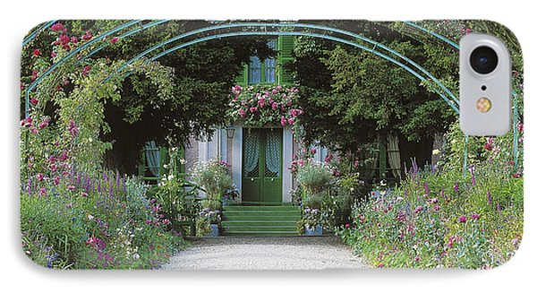 Claude Monet's Garden At Giverny IPhone Case