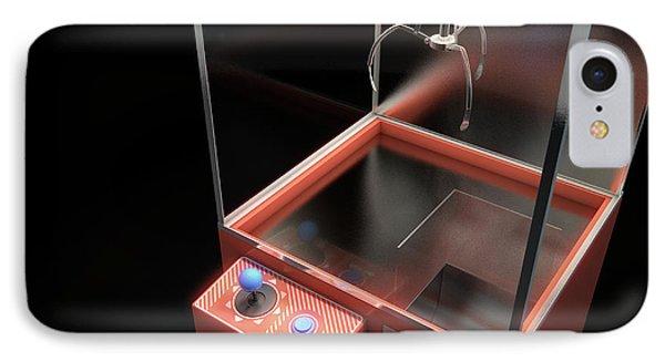 Claw Arcade Game IPhone Case by Allan Swart