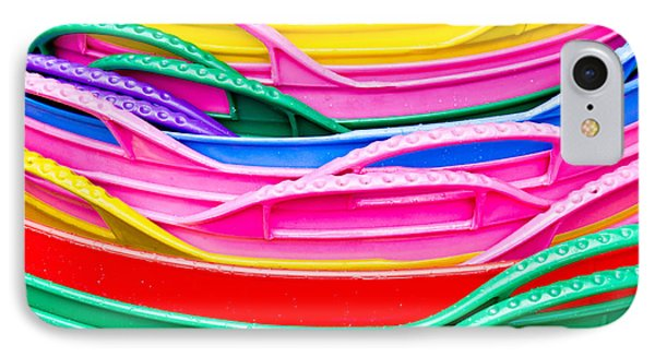 Colorful Plastic IPhone Case by Tom Gowanlock