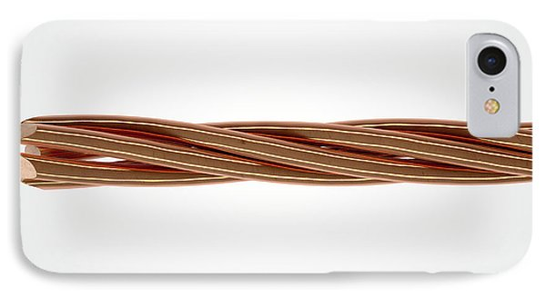 Copper Wire Strands IPhone Case