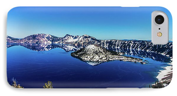 IPhone Case featuring the photograph Crater Lake by Jonny D