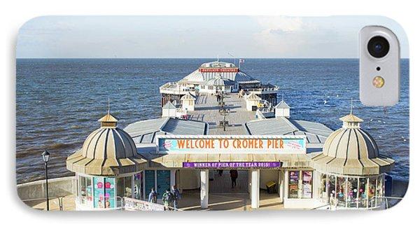 Cromer Pier IPhone Case by Tom Gowanlock