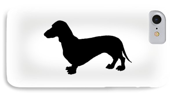 Dachshund IPhone Case by Mordax Furittus