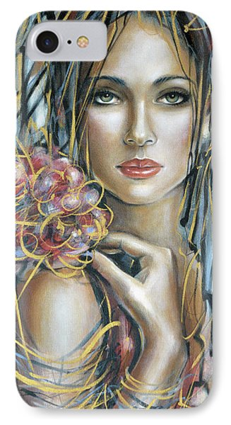 Drama Queen 301109 IPhone Case by Selena Boron