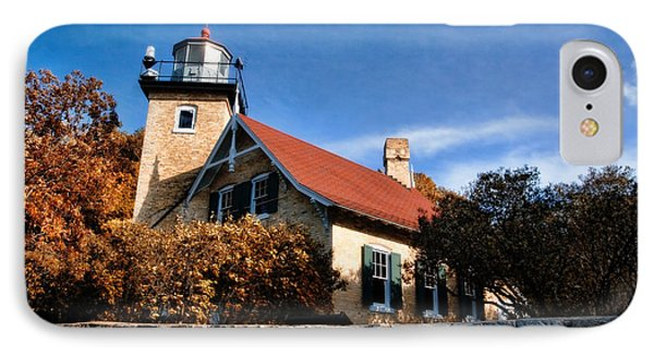Eagle Bluff Lighthouse IPhone Case by Joel Witmeyer
