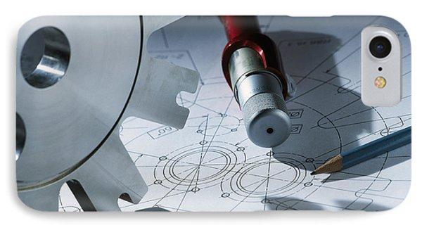 Engineering Equipment Phone Case by Tek Image