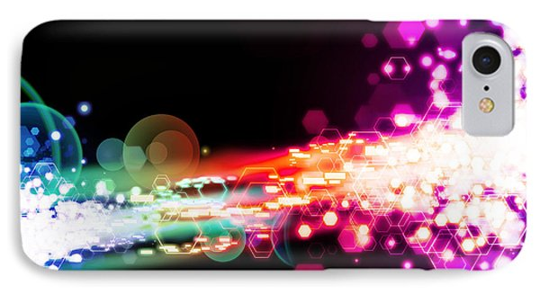 Explosion Of Lights Phone Case by Setsiri Silapasuwanchai