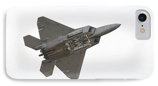 F-22 Raptor IPhone Case by Sebastian Musial