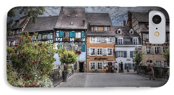 Fairytale Alsace IPhone Case by Sandra Rugina