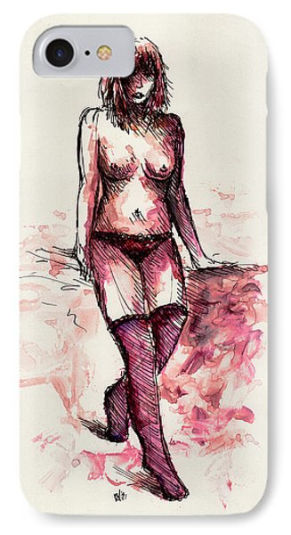 Figure Study Phone Case by Rachel Christine Nowicki