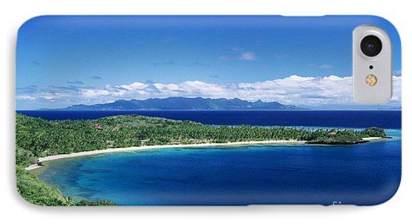 Fiji Wakaya Island Phone Case by Larry Dale Gordon - Printscapes
